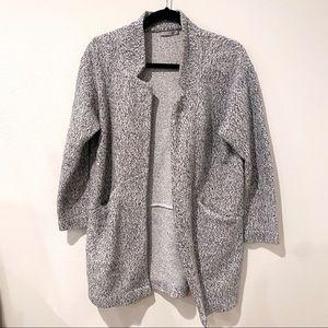 Zara Gray Lightweight Coat